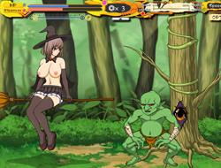 Ведьма в таинственном лесу играть