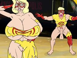 Супергеройский трах играть онлайн