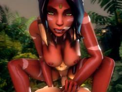 Королева джунглей Нидали играть