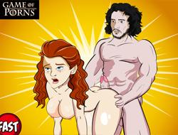 Игра престолов: Секс – Одиссея Джона Сноу играть