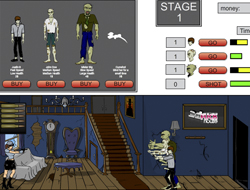 Джил Валентайн против зомби играть