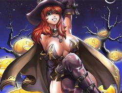 Хеллоуинские ведьмочки играть