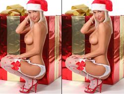 Рождественская разница между девушками играть
